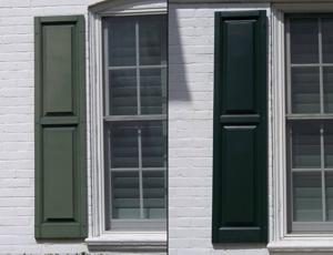Vinyl Shutter Restoration Window Cleaning Company York Pa Pressure Washing Company York Pa