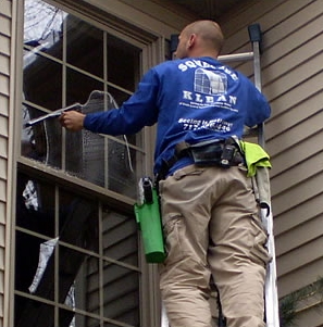 Window Cleaning by Squeegee Klean of York PA