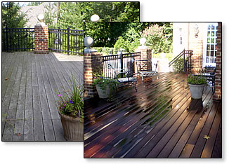 Pressure Washing Company Deck