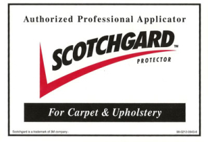 Authorized Professional Scotchgard Carpet Applicator