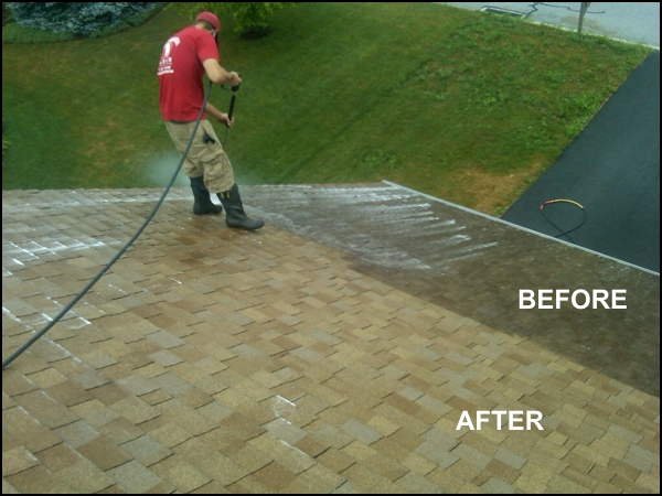 Soft Wash Roof Cleaning 2