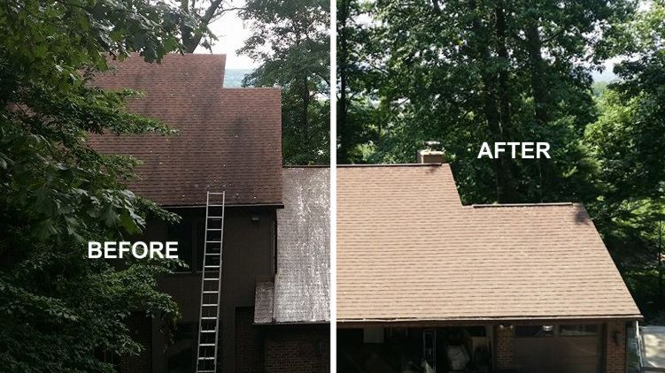 Soft Wash Roof Cleaning York PA